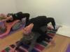 yogahold amager, ryg position