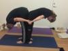 yogahold amager, ryg til ryg position