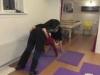 yogahold amager, rør jorden position
